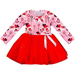 Baby Toddler Little Girls Valentine's Day Dress – Unique Boutique Exclusive Styles