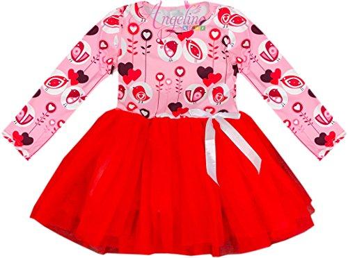 Angeline Boutique Clothing Girls Valentine Dress - Happy Valentine's Day Boutique