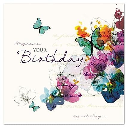 Cumpleaños/Tarjeta de felicitaciones (GBCC6237) felicidad en ...
