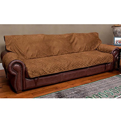 Solvit Sofa Full Coverage Cocoa Furniture Protector 51LoHqMlqJL