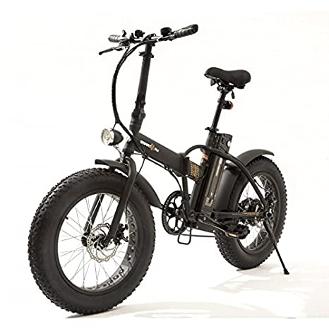 Smartway Monster Bike Bicicletta Elettrica Pieghevole Autonomia 50