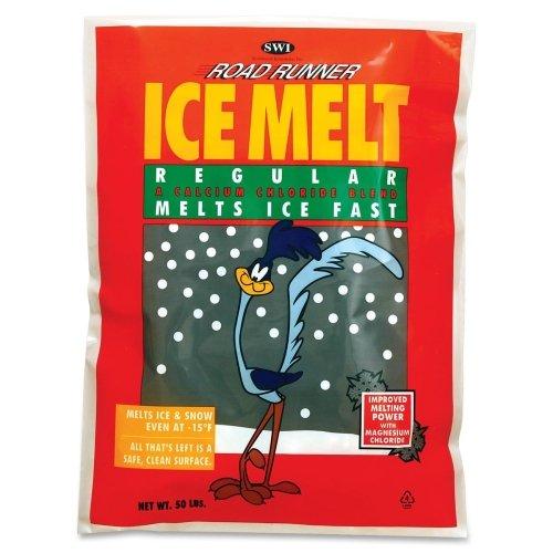Scotwood Road Runner Ice Melt - Magnesium Chloride, Calcium Chloride, Sodium Chloride -15°F (-26.1°C) - 50 lb