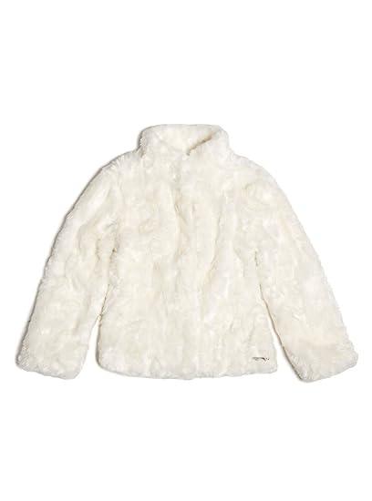 size 40 77a57 03133 Guess - Cappotto - ragazza bianco 16 anni: Amazon.it ...