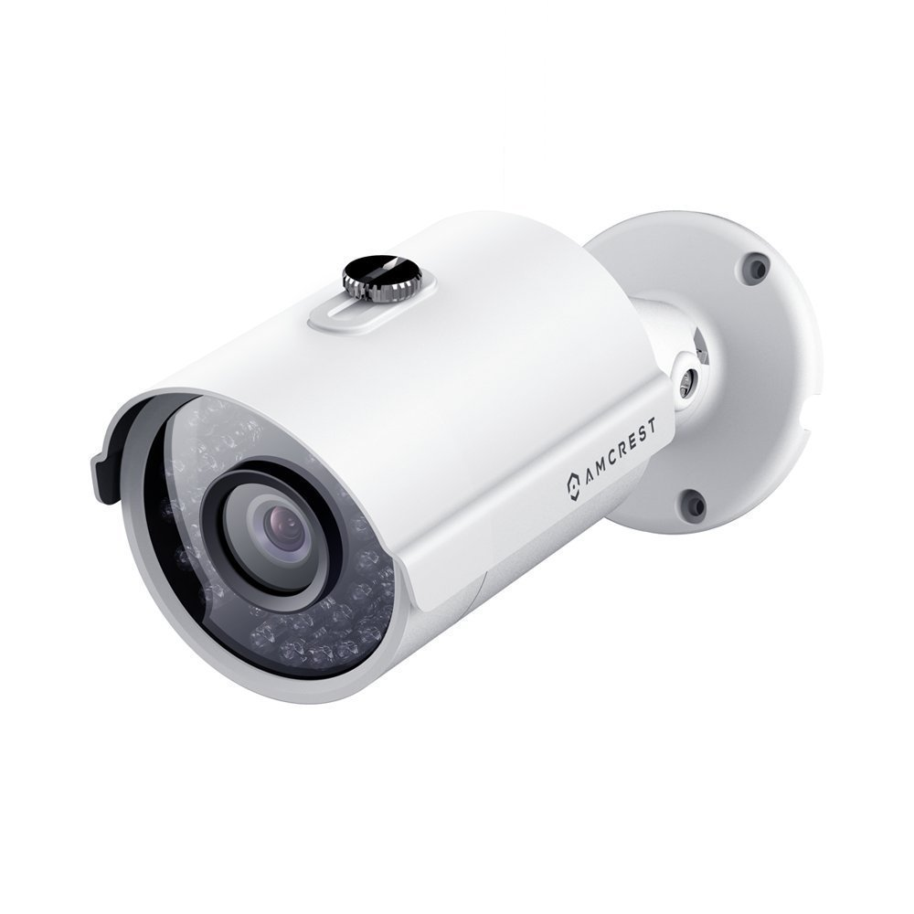 Amcrest ProHD Outdoor 4 Megapixel POE Bullet IP Security Camera - IP67 Weatherproof, 4MP (2688 TVL), IP4M-1025E (White) by Amcrest (Image #1)