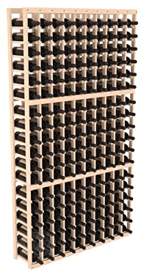 Wine Racks America Ponderosa Pine 10 Column Wine Cellar Kit. 13 Stains to Choose From!