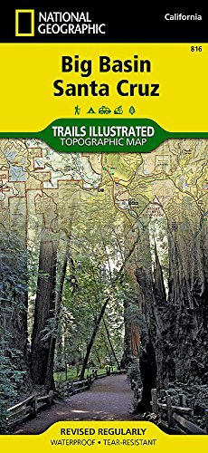 Big Basin, Santa Cruz (National Geographic Trails Illustrated Map) by National Geographic Maps - Trails Illustrated - Shopping Mall Cruz Santa