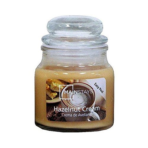 Mainstays Hazelnut Jar Candle, 3 oz. ()