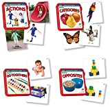 Lauri Language Cards Bundle - Actions, Categories, Go-Togethers, Opposites (Set of 4)