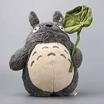 Studio Ghibli My Neighbour Totoro Large Plush Toy with Leaf 16 inch 38cm 1622c841c8a5