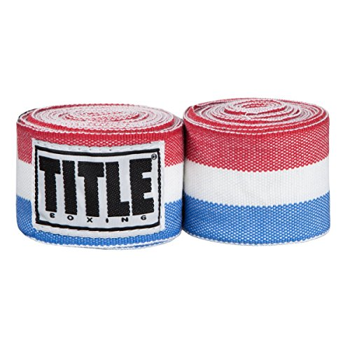 TITLE Elastic Mexican Hand Wrap, Red/White/Blue, ()