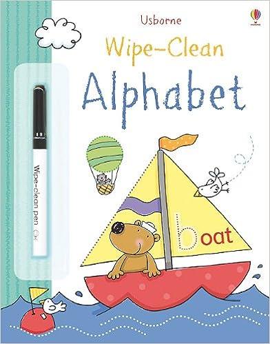 Wipe-Clean Alphabet Book (Wipe-clean Books)