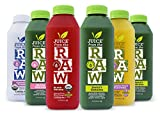 vegetable juice organic - Juice from the RAW 3 Day ORGANIC Juice Cleanse - Believer Cleanse with Probiotics - 18 Bottles