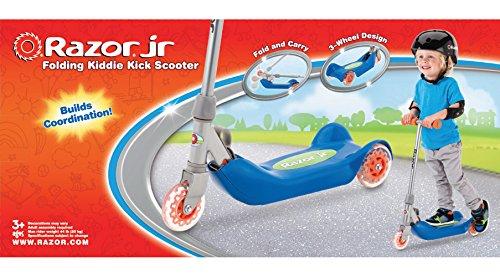 Razor Jr. Folding Kiddie Kick Scooter - Blue