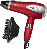 AEG Professional Hairdryer With Eco Save and Ion Technology Red by AEG