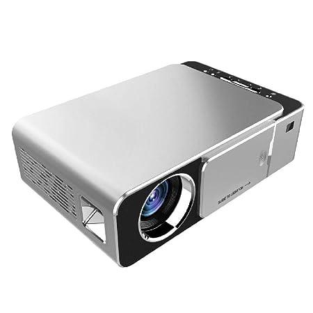 YGBH Mini proyector 1080P-T6 Soporte Full HD, proyector de Video ...