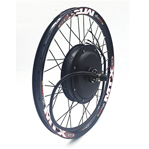 (NBPower 48V/60V/72V 3000W Electric Bike Conversion Kit, 17