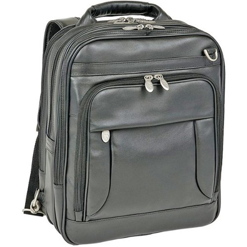 (Lincoln Park Leather Computer Briefpack by McKlein USA)