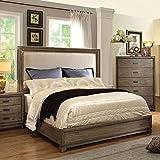 Antler Transitional Natural Ash King Size Bed