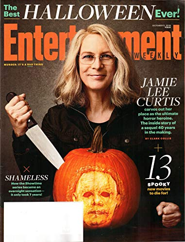 Entertainment Weekly Magazine (October 5, 2018) Halloween Jamie Lee Curtis Cover -