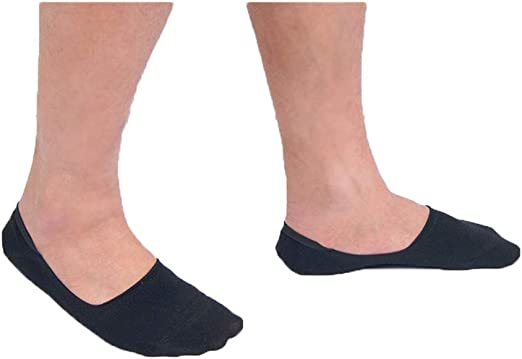Casual Bamboo Ankle Soft Invisible Men Socks Low Cut No Show Cotton Socks