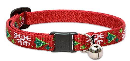 Christmas Cat Collar - LupinePet Originals 1/2