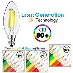 E12 LED Bulbs Candelabra LED Light Bulbs with E12