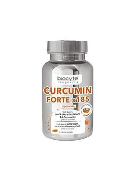 Biocyte Curcumin forte x185 30 capsules: Amazon.es: Salud y ...