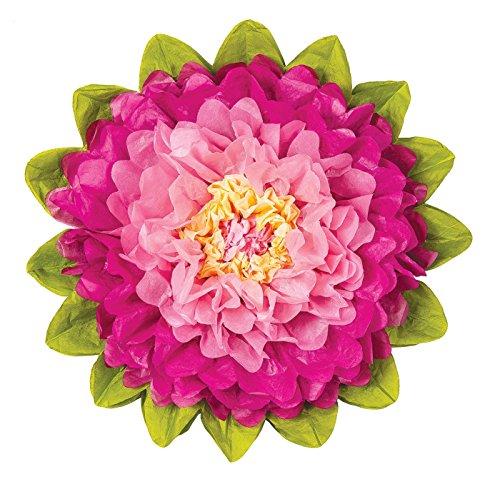 luna-bazaar-medium-tissue-paper-flower-10-inch-bubblegum-pink-sorbet-pink