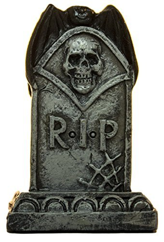 Ganz 2 Inch Halloween Spooky Fantasy Garden Cemetery Figurines (Tombstone) -
