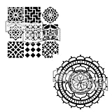 Crafter's Workshop Stencil 2 Pack, Reusable