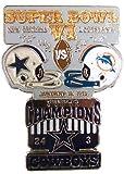 Super Bowl VI Oversized Commemorative Pin