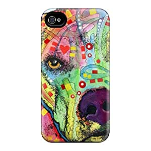 Iphone 6plus FeN2161KQfD Support Personal Customs Beautiful Pit Bull Dean Russo Image Scratch Resistant Hard Phone Case -JasonPelletier