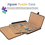 Jigsaw Puzzle case Puzzle Board- Ingooood Easy Move Storage Jigsaw Puzzle mat Work Separate Puzzle Board up to 1,000 Pieces Durable jigboard