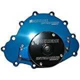 Meziere WP103B Blue Billet Electric Water Pump for Pontiac