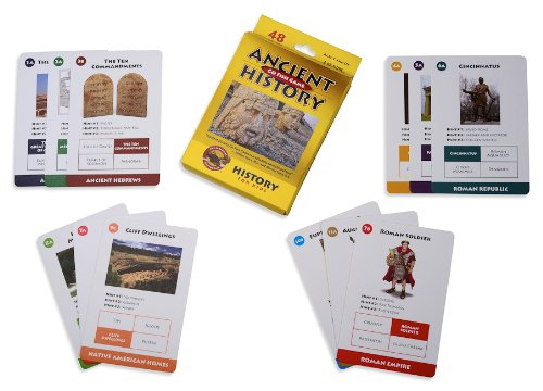 The Classical Historian Ancient History Go Fish Game with History Book