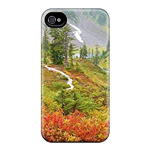 Awesome HeJ34991ThNx DeannaTodd Defender Hard Cases Covers For Iphone 6- Springtime In The Meadows