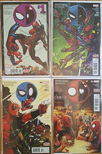 Original 2016 Costumes (Spider-man Deadpool #1-4 Marvel Comics)