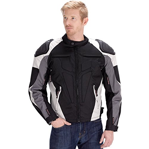 Viking Cycle Asger Motorcycle Jacket for Men (L)
