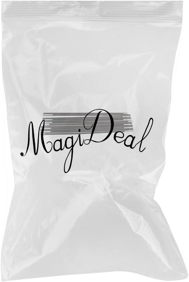MagiDeal 2 Piezas Palos Reemplazo Poste de Tienda de Campa/ña de Fibra de Vidrio