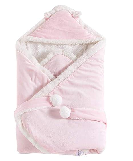Octubre Elf Cute recién nacido bebé Swaddle grueso saco de dormir cálido manta Wrap regalo para