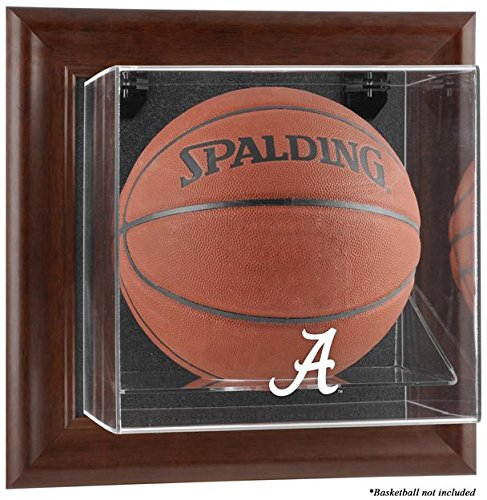 NCAA - Alabama Crimson Tide Framed Wall Mountable Basketball Display Case by Sports Memorabilia