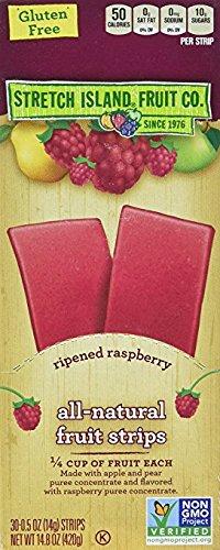 Stretch Island Original Fruit Leathers, Raspberry, 30 ct
