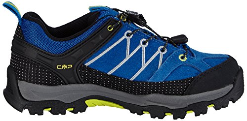 CMP Rigel - zapatillas de trekking y senderismo de cuero niños turquesa - Türkis (CHINA BLUE L694)