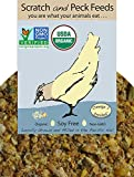 Naturally Free Organic Starter Chick Feed, 25lbs, Non-GMO Project Verified, Soy Free and Corn Free