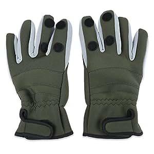 Amazon.com : heaven2017 Fishing Gloves Antislip Winter
