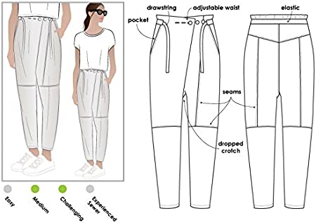 """Style Arc Schnittmuster /""""Isla Pant/"""" Sizes 04-16"""