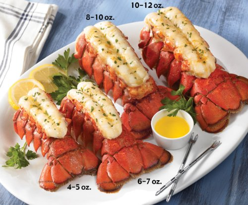 Lobster Gram M10T2 TWO 1012 OZ MAINE LOBSTER TAILS