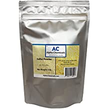 Sulfur Powder (Brimstone) - 99.5% Pure - 1 Pound