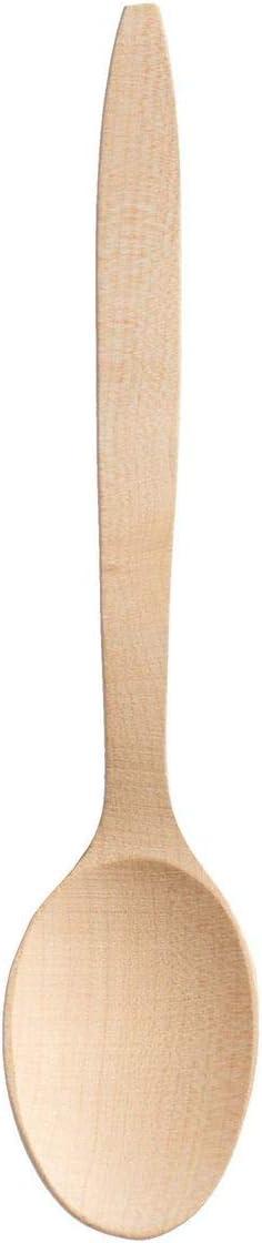 BEST BONUS ET SALVUS TIBI Unisex Adulto Color Crudo Wooden Best-Cuchara de Madera 60 cm