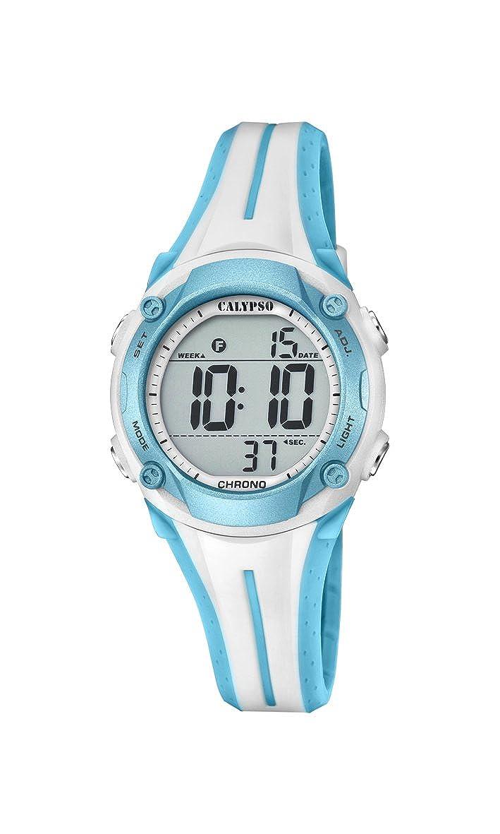 Calypso Reloj Digital para Unisex de Cuarzo con Correa en Plástico K5682/8